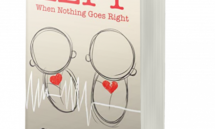BOOK AWARD WINNER: LEFT: WHEN NOTHING GOES RIGHT