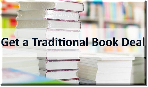 how to get a traditional book deal