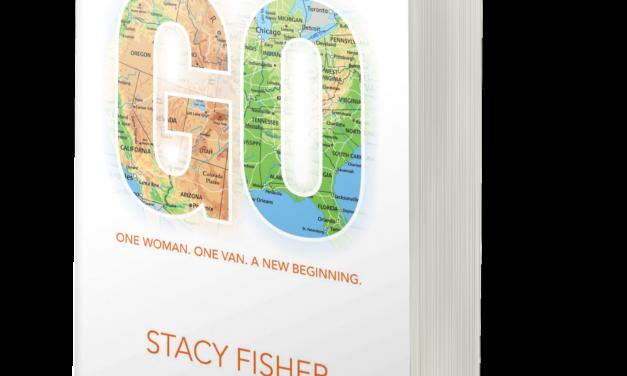 BOOK AWARD WINNER: GO: ONE WOMAN, ONE VAN, A NEW BEGINNING